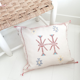 Sabra Silk cushion Natural