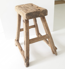 Old wooden stool 1