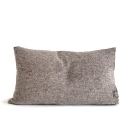Woolen cushion Chocolat rectangular