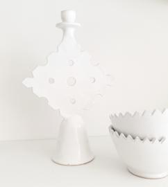 Witte tamegroute schaal