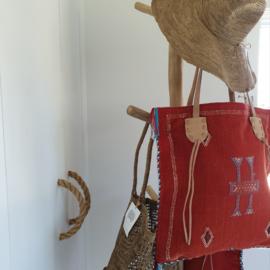 Sabra Silk bag Red