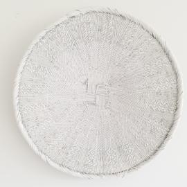 Tonga basket White Medium 4