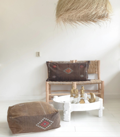 Sabrasilk floor cushion brown