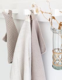 Tea towel Natural loosely woven IB Laursen