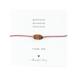 Tiger Eye Bracelet A Beautiful Story