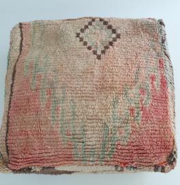 Marokkaans Vintage Kelim Vloerkussen