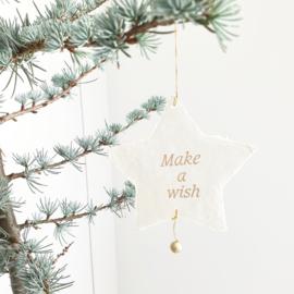 """Papieren Sterren """"Make a Wish"""" & """"Love"""""""