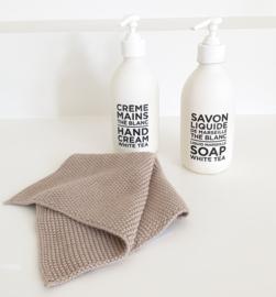 Dishcloth Sand Knitted IB Laursen