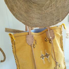Sabra Silk bag Yellow