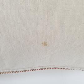 Sabra silk kussen XL Naturel Off White