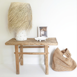 Old wooden sidetable