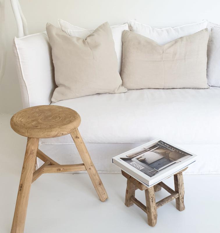 Linen cushion cover Natural IB Laursen 40x60