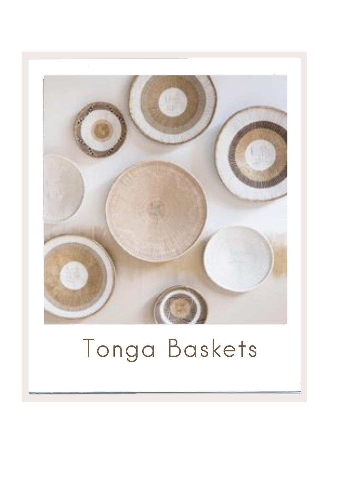 Afrikaanse Tonga baskets van Zenza in Naturel of geverfd in wit, goud, zwart, bruin. Om bijvoorbeeld prachtige wall art te creëren, bybliss.nl