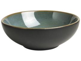 Schaaltje groen/zwart Ø9cm