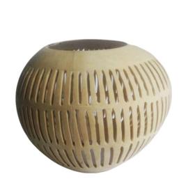 Waxinelichthouder Kokosnoot
