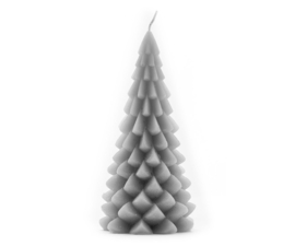 Kerstboomkaars Cool grey