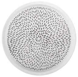 Lunch Plate delicate grey/zinc