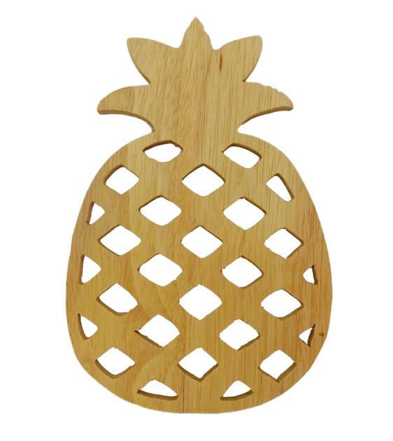 Onderzetter Ananas hout