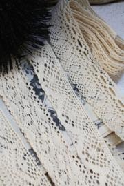 Set of Bobbin Cotton Lace Trim.