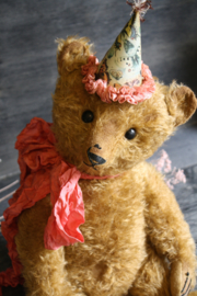 """Hug Me Again Collectible bear """"Theodor"""" standing about 16.5 inch tall."""