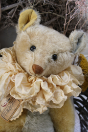 """Hug Me Again Collectible bear """"Zeppy"""" standing about 15.5 inch tall."""