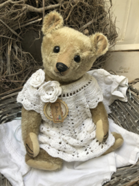 """🌸 Hug Me Again Collectible bear """"Mary"""" standing about 15"""" inch tall."""