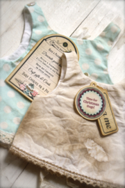Vintage Inspired Decoration Hang Tags, Set of 16 various sorts.