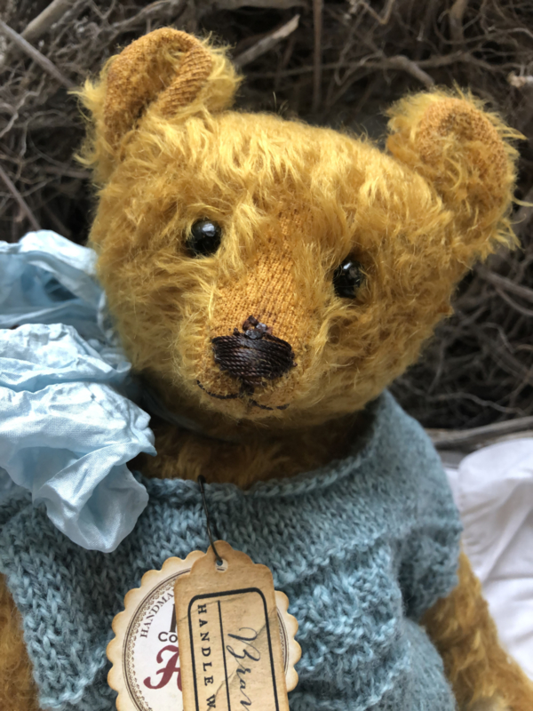 "Hug Me Again Collectible bear ""Bramble"" standing about 13"" inch tall."