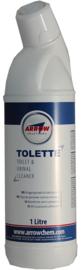 Toilet ontsmetten en ontkalken 1ltr