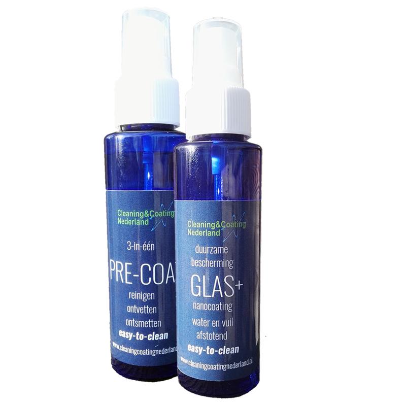 Nanocoating Glas+ 100ml & Pre-coat 100ml