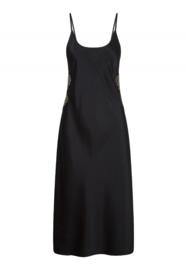 Black Incense Long Dress