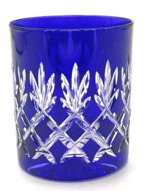 EWA water/whiskyglas - cobalt