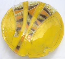 Schaal 23 -  geel - met inzet -  groot