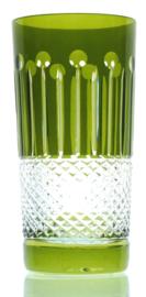 CHRISTINE - longdrink/waterglas - green olive