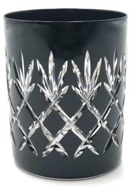 EWA water/whiskyglas - black