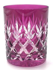 EWA water/whiskyglas - raspberry