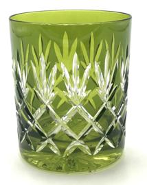 EWA water/whiskyglas - green olive