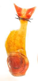KAT 5 -  zittend hoog - klein - geel/rood