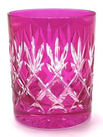 EWA water/whiskyglas - pink