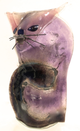 KAT 4 -  zittend laag  - lila/violet