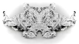 Nailart foil zilver