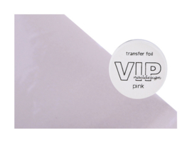 Transfer folie pink