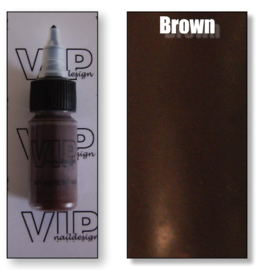 Art paint brown