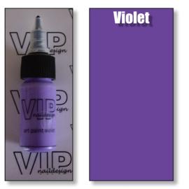 Art paint violet