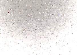 Glitter Silver white