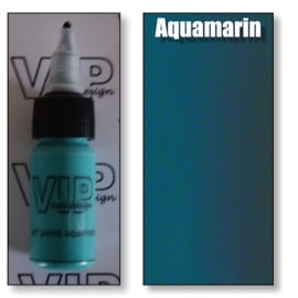 Art paint aquamarin