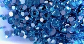 Rhinestones capri blue