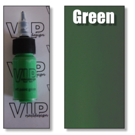 Art paint green