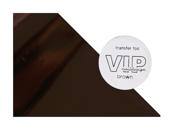 Transfer folie brown