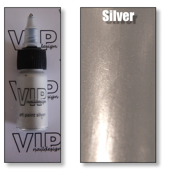 Art paint silver
